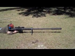 20 мм снайперская винтовка.