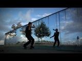 необычное видео про скейтбординг
