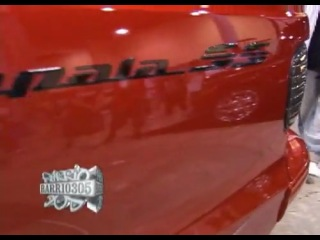 Donks, Hi-risers, Bubbles - Chevy Impala SS red on 26''