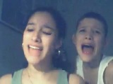 Интересное исполнение песни Bring Me To Life молодой девушкой с братом