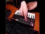 AKAI MPK mini. Видео урок, или как делать ритм?
