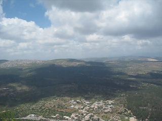 Святая земля. Вид с горы Фавор