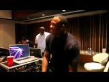 Justin Bieber talks about Justbeats headphones in the studio with Dr. Dre Pray