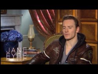 интервью с Майклом Фассбендером (Джейн Эйр 2011)