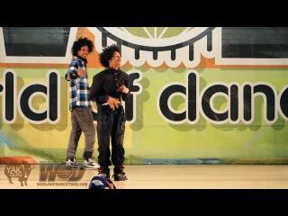 Les twins | yak films | world of dance 2010 vallejo, ca | bay area wod