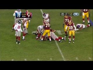 NFL 2010-2011: New York Giants vs Washington Redskins - Часть 2 (Week 17) 02.01.2011
