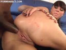 Big ass chick butt fucked by huge black cock