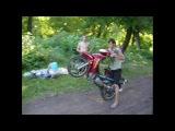 Стахановский клуб скутеристов))