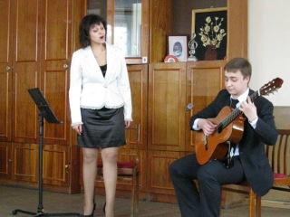Михаил Юркус (гитара) Яна Флаксман (вокал)-Аве Мария