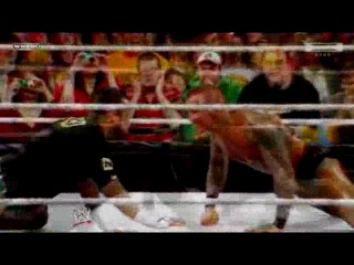 WWE WrestleMania 27 promo Randy Orton vs CM Punk