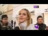 Emma Watson speaking french bonjour le petit journal