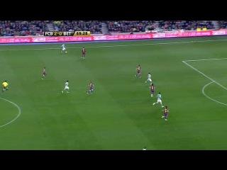 Кубок Испании 2010-2011 / 1/4 финала / Первый матч / Барселона - Бетис  2 тайм
