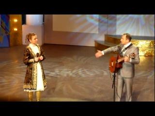 Марина Девятова и Святослав Ещенко.Съемка телепередачи