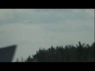 посадка ТУ154 RA85563 29.04.2011
