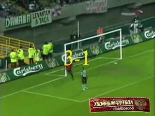 Финал Кубка УЕФА (Лиги Европы) 2004/2005. Спортинг 1:3 ЦСКА (Обзор)