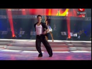 Танцы со звездами 2011. Стас Шуринс и Елена Пуль. Самба