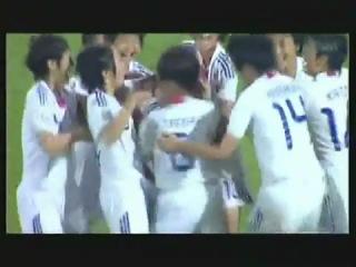 Как забивают голы японские девушки