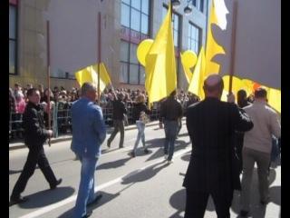 парад победы Тюмень 2011