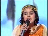 поёт маленькая слепая девочка из Индии (Хатуба  в переводе мама  )