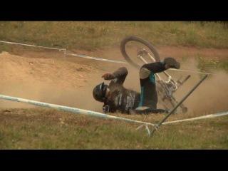 Велоспорт!Жесткие падения!