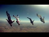 Прыжки с парашютом. Нереально красивое видео. Happy.Public