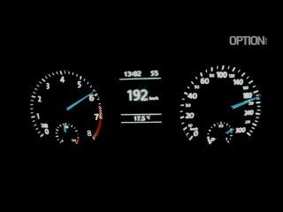 264 km-h en Volkswagen Scirocco R (Option Auto)