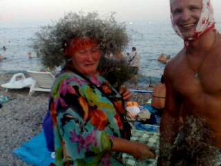 Бабка Коктебель и странник Вадя