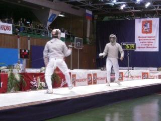 Чемпионат Мира в Москве по фехтованию на сабле (27.11.2010.)