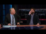 Zach Galifianakis Smokes Weed On Bill Maher's Show
