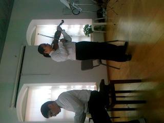Barak and Amit play Rackoshi