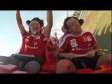 самые быстрые американские горки в мире, ускорение 0-240км/ч за 3 секунды, Абу-Даби парк Ferrari world