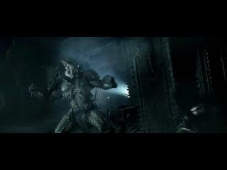 Чужой против Хищника(фрагмент из фильма)
