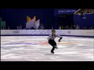 Олимпиада в Солт-Лейк-Сити. Алексей Ягудин короткая программа (признана лучшей за всю историю мужского фигурного катания)