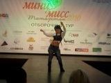 Софийка на конкурсе Мини Мисс красоты Татарстана 2010.