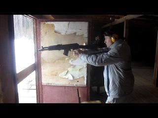 Сайга 7.62х39 в роли пистолета