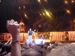 Речь Брюса Дикинсона на концерте группы