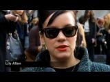 Лили Аллен, Ли Лезарк и Карл Лагерфельд о показе Chanel, осеньзима 2011-12 Vogue TV - Exclusive fashion footage