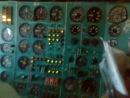 Работа бортинженера на самолете ТУ 154