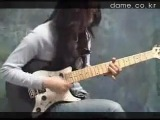 Korean Girl Guitar Funk Jam