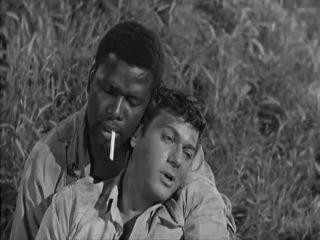 Легенды: Сидни Пуатье / Тони Кертис                 Не склонившие головы(Скованные одной цепью)/The Defiant Ones(1958)