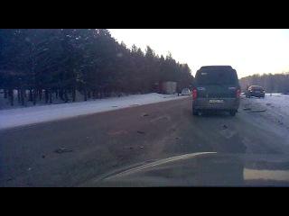 Авария на трассе М53 в районе кафе