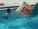 Jonas Brothers boat pool race in Tampa