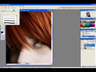 Hayley Williams transform in Vampire (photoshop)/ Хэйли Уильямс перевоплощение в вампира (фотошоп)