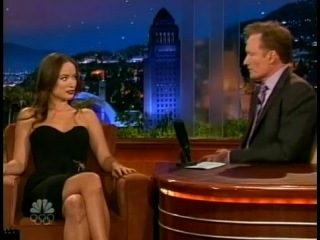 Olivia Wilde & Jim Carrey - Conan O'Brien's