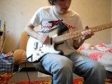 Моя самодельная гитара.