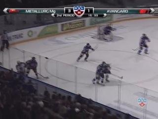 Avangard — Metallurg Mg. Game 3. Eastern 1/2. KHL Gagarin Cup Playoffs 2011