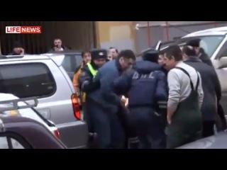 ДТП Джип протаранил 16 авто на Садовом кольце Москва