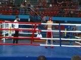 Чемпионат России по Кикбоксингу (лоукик) 2010, 1 бой , Мурад Бахарчиев www.patriotsport.ru