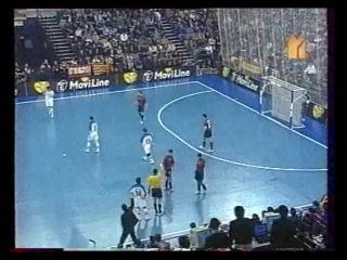 Мини-футбол. Чемпионат Европы 1999. Финал. Россия - Испания (3:3, 4:2 пен.)