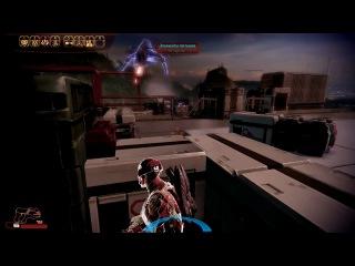 Mass Effect 2. Шепард и горячая киса Касуми